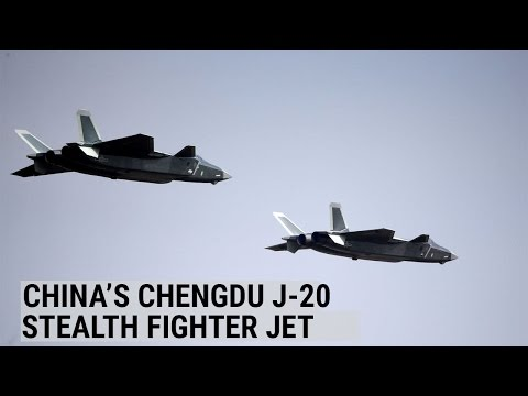 China unveils Chengdu J-20 stealth fighter jet