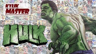KylikMaster: Рисую ручкой; Халк; Мстители; I draw with a pen; Hulk; The Avengers