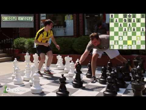 Maxime Vachier-Lagrave GIANT Chess vs IM Danny Rensch