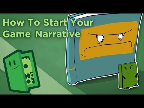 How To Start Your Game Narrative - Design Mechanics First - Extra Credits