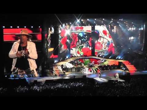 Guns N Roses - Sweet Child of Mine - Live San Diego Qualcomm - 8-22-16