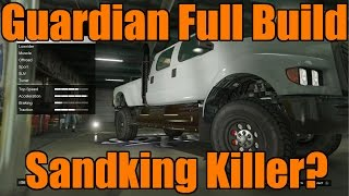 GTA 5 | Xbox One/PS4 | Guardian Tuning/Customization | HUGE F650/Kodiak Truck