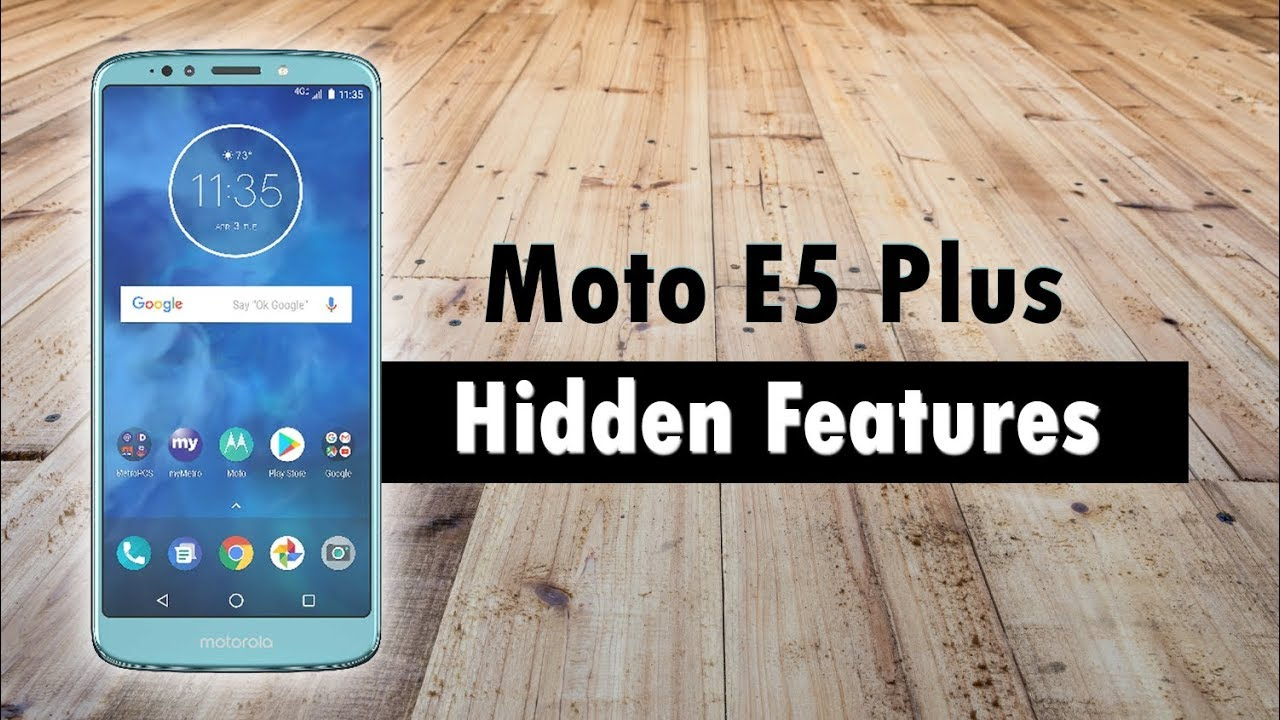 Hidden Features of the Moto E5 Plus You Don't Know About | H2TechVideos