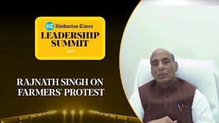 Amid protest march, Rajnath Singh invites farmers for talks #HTLS2020