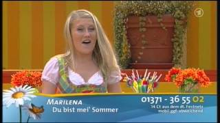 [HQ] - Marilena - Du bist mei Sommer - 28.07.2013 - Immer wieder Sonntags