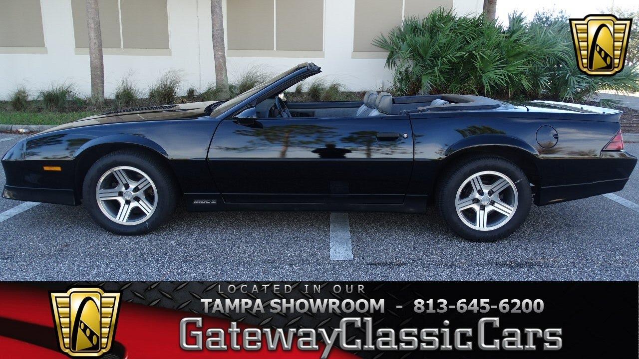 Camaro 1988 chevy camaro : 1988 Chevrolet Camaro IROC-Z Convertible - stock#789-TPA - YouTube