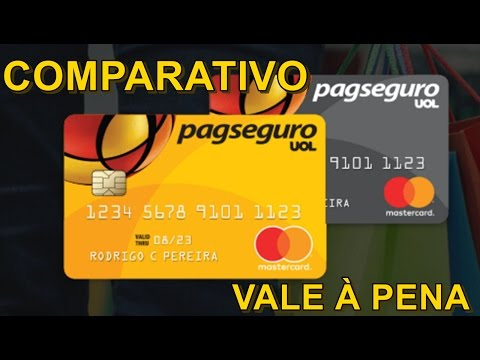 Cartões Pré Pagos PagSeguro Valem à Pena? Veja Comparativo #PAGAMENTOSMOVEIS