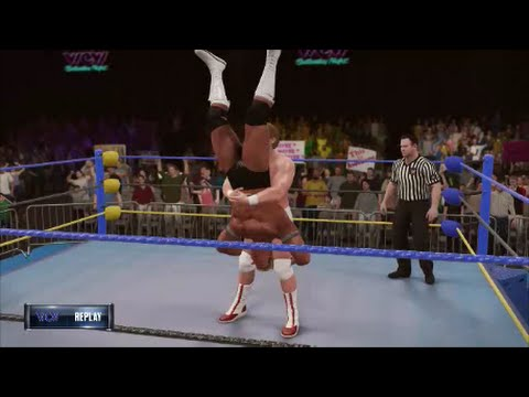 "Lex Luger vs ""Mr. Wonderful"" Paul Orndorff - WCW Saturday Night July 1991 (WWE 2K16 Universe)"