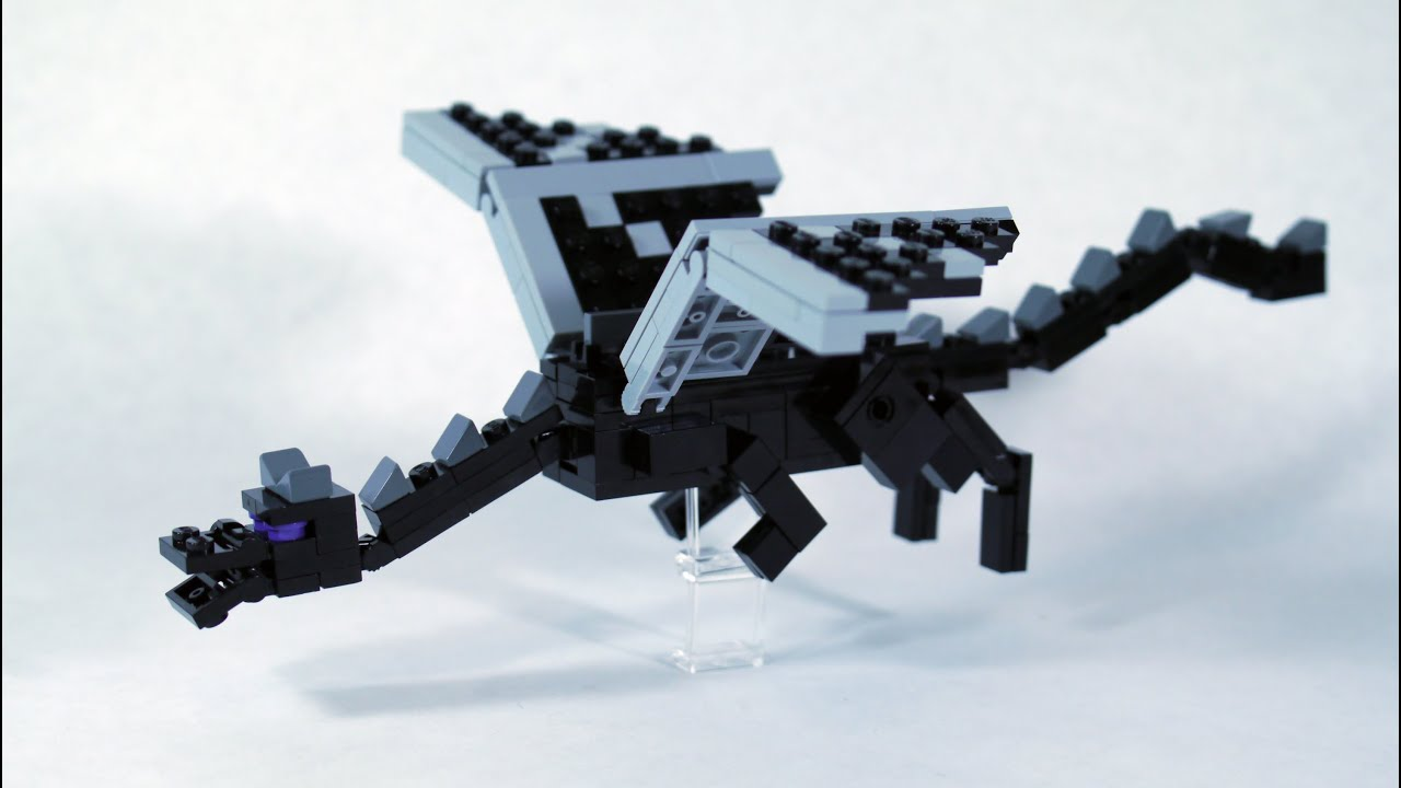 How to build lego minecraft ender dragon part 1 youtube ccuart Image collections
