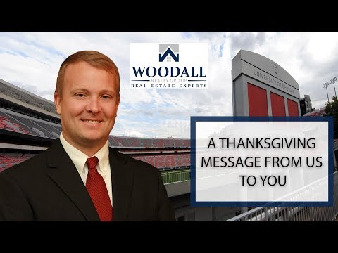 Athens Real Estate Agent: A Thanksgiving Message From Us to You