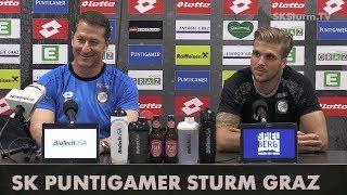 SK Sturm: Mediabriefing vor SK Rapid Wien (34. Runde 2016/17)