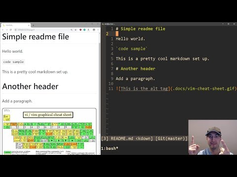 Writing and Previewing Markdown in Real Time with Vim 8+