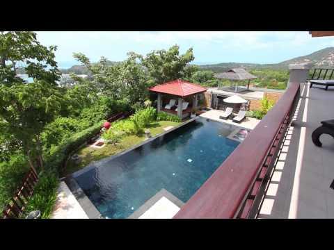Koh Samui Villas - Summitra Villa 4 Bed