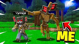 Siren Head PRANK in Minecraft! - Minecraft Trolling Video