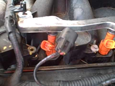 how to change the spark-plugs on a crown victoria pt.2 ... 2004 ford f 250 fuel filter location for 6 0 ford crown victoria fuel filter location