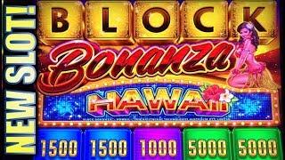 ★NEW SLOT! BLOCK BONANZA HAWAII★ 😘😩 LOVE IT OR HATE IT? Slot Machine Bonus (Aristocrat)
