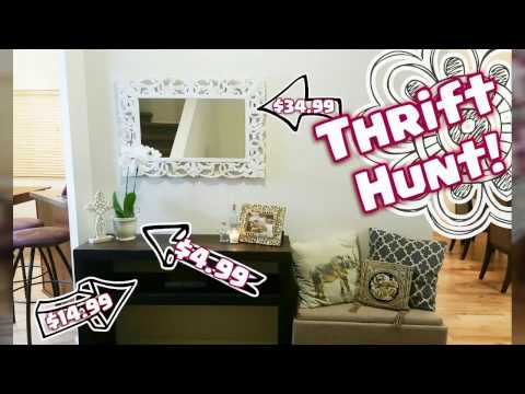Thrifty Makeover! | Entryway Table/Shelf