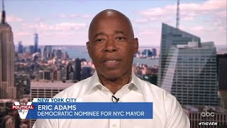 NYC Mayoral Candidate Eric Adams on Rise in Violence and Addressing NYPD Misconduct