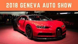 2018 Geneva Auto Show   The Superest Supercars