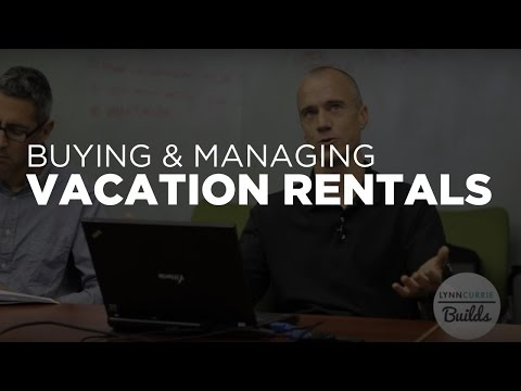 Buying and Managing Short Term or Vacation Rentals - Real Estate Investing