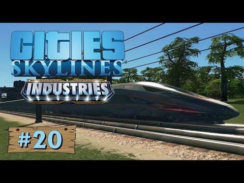 Cities Skylines: Industries #20: Es wird Zeit für Personenzüge [Gameplay][German][Deutsch]