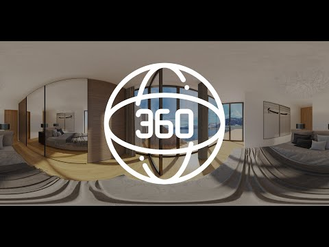 360° Panorama Visualisierungen | 4K Virtuelle Wohnungsbesichtigung | VR Virtual Tour | Schlafzimmer