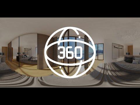 Interaktive 360° Rundgänge Immobilien | 360 Grad Innenraum Schlafzimmer | VR Virtual Tour Haus