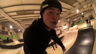"""Mark Webb: """"I am Jordan clark"""" scooter session with the lads."""
