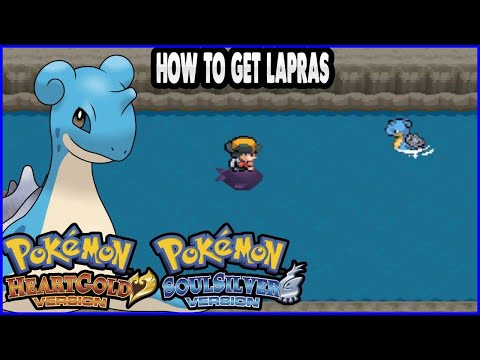Pokemon HeartGold And SoulSilver - How To Get Lapras