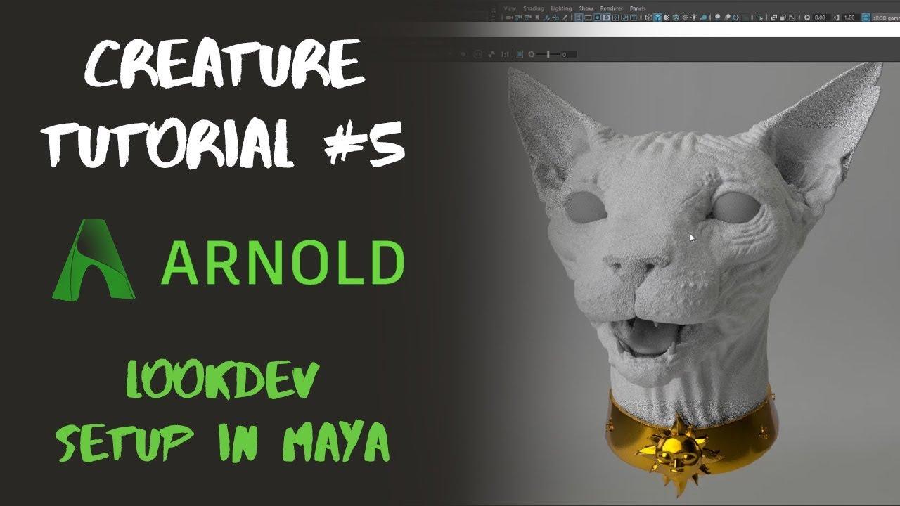 Michael Wilde - Creature Creation Tutorial Series - Mari