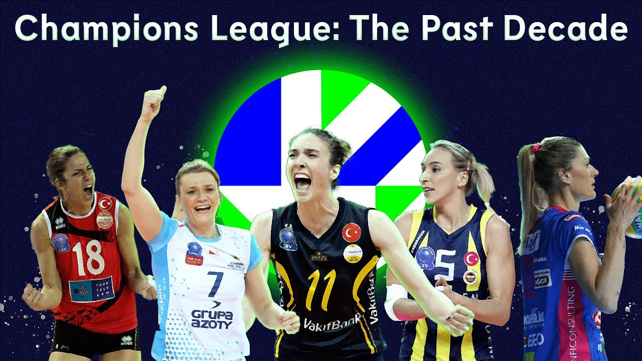 CEV Champions League Volley: The Past Decade