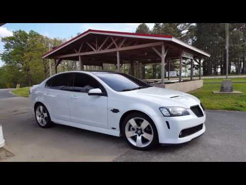Pontiac G8 - My first road trip