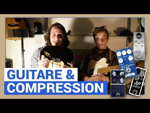 On vous apprend à vous servir des compresseurs en guitare avec Swan Vaude !