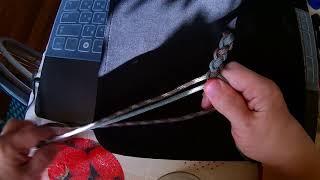 Школа макраме, плетения. урок № 2 Канатное плетение