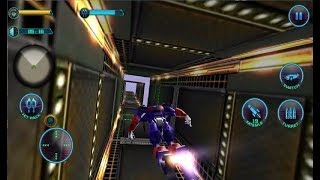 ► Flying Superhero Robot Monster Transform Fighting - Last Episode - Android Gameplay