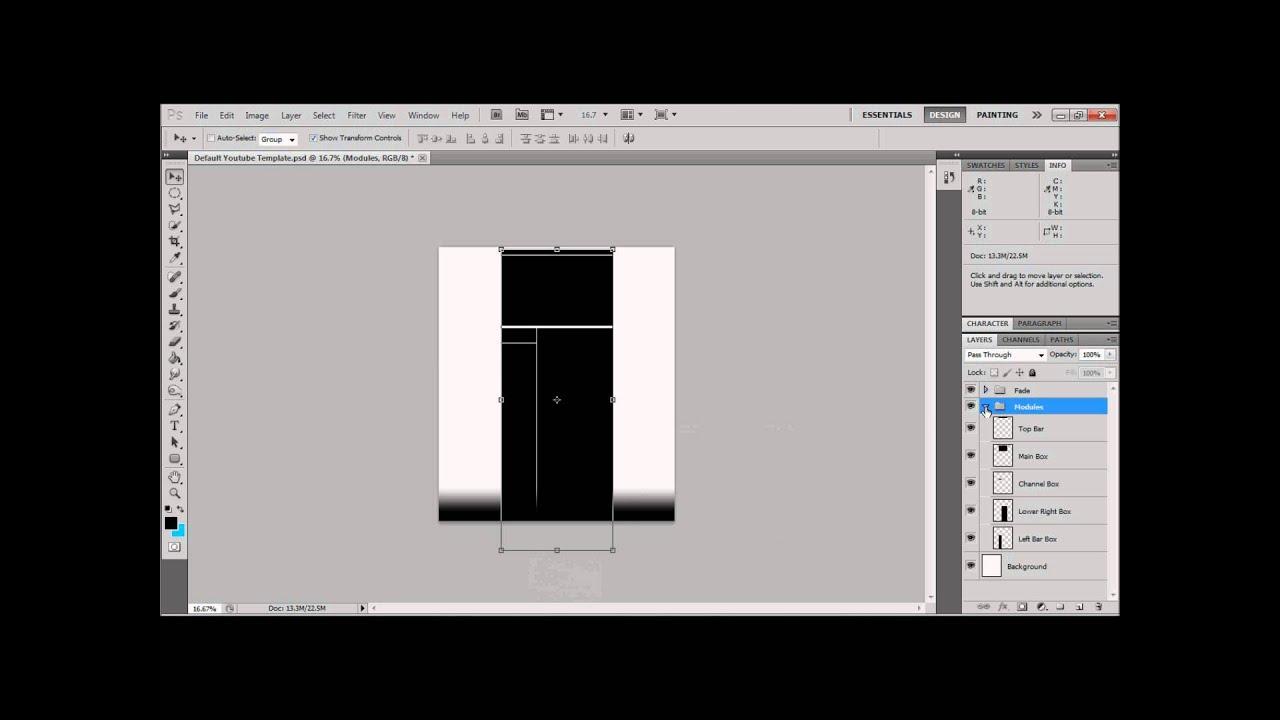 Plain Youtube Background - PSD + JPEG - YouTube