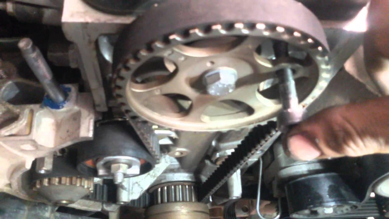 Troca E Ponto Da Correia Dentada Do Peugeot 207 1 4 8v