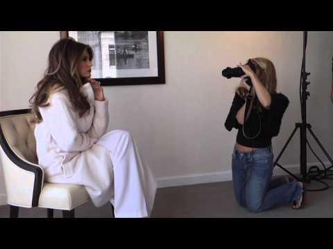 Melania Trump Photo Shoot | Jetset Magazine
