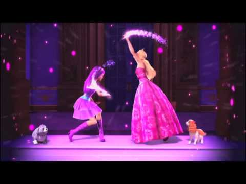Barbie  The Princess  and the Popstar on dvd trailer/commercial