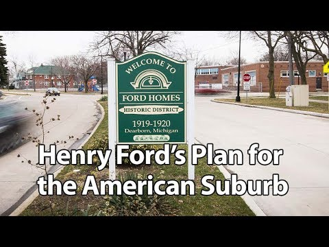 Henry Ford's Plan For The American Suburb - Autoline This Week 2123