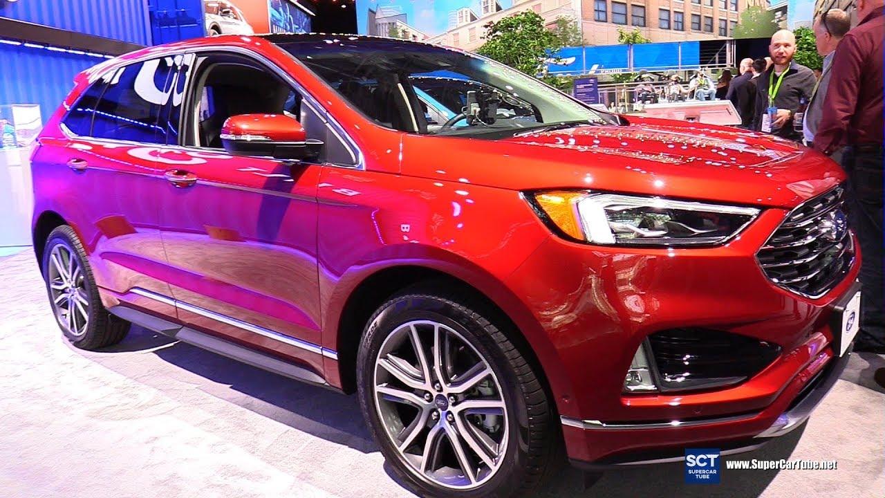 2019 Ford Edge Titanium - Exterior and Interior Walkaround - 2019 New York Auto Show