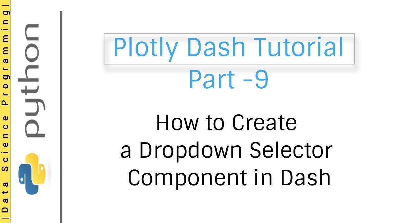 Plotly dash course