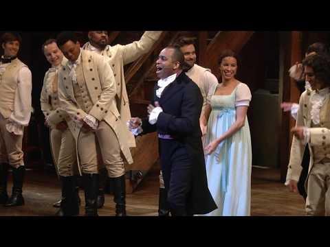 Hamilton Curtain Speech by Daniel Breaker for The Actors Fund