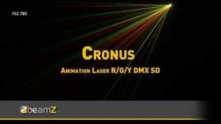 BeamZ Cronus Animasyon Lazer R/G/Y DMX SD 152.780 BeamZ