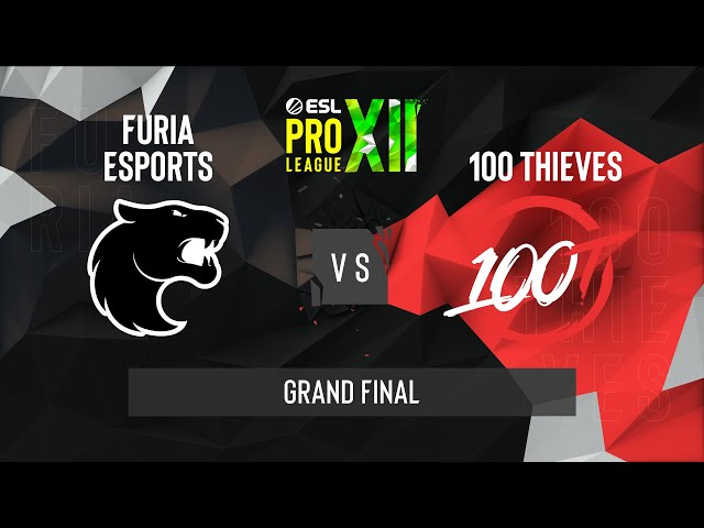 CS:GO - FURIA vs. 100 Thieves [Vertigo] Map 1 - ESL Pro League Season 12 - Grand Final - NA