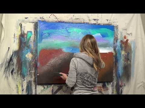 Abstract Art Painting Demo