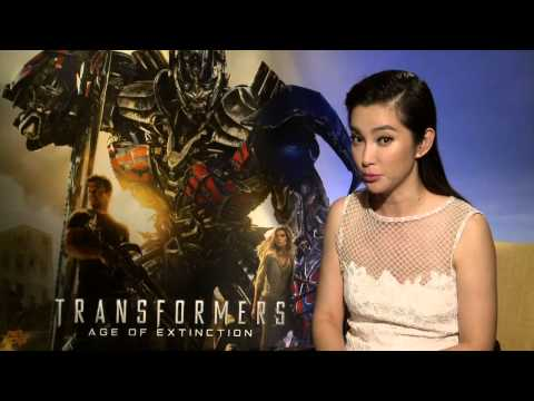 "Transformers 4: Age of Extinction: Li BingBing ""Su Yueming"" Official Movie Interview"