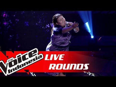 Artha - Bed Of Roses (Bon Jovi) | Live Rounds | The Voice Indonesia GTV 2018