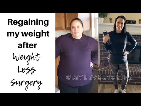 REGAINING WEIGHT AFTER WEIGHT LOSS SURGERY ● VSG & RNY GASTRIC SLEEVE SURGERY TIPS
