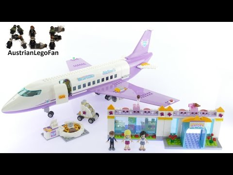 Lego Friends 41109 Heartlake Airport - Lego Speed Build Review